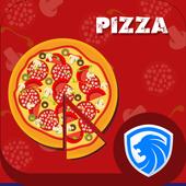 AppLock Theme - Red Pizza icon