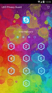 AppLock Theme - Sketch Doodle apk screenshot