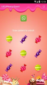 AppLock Theme - Sugar apk screenshot