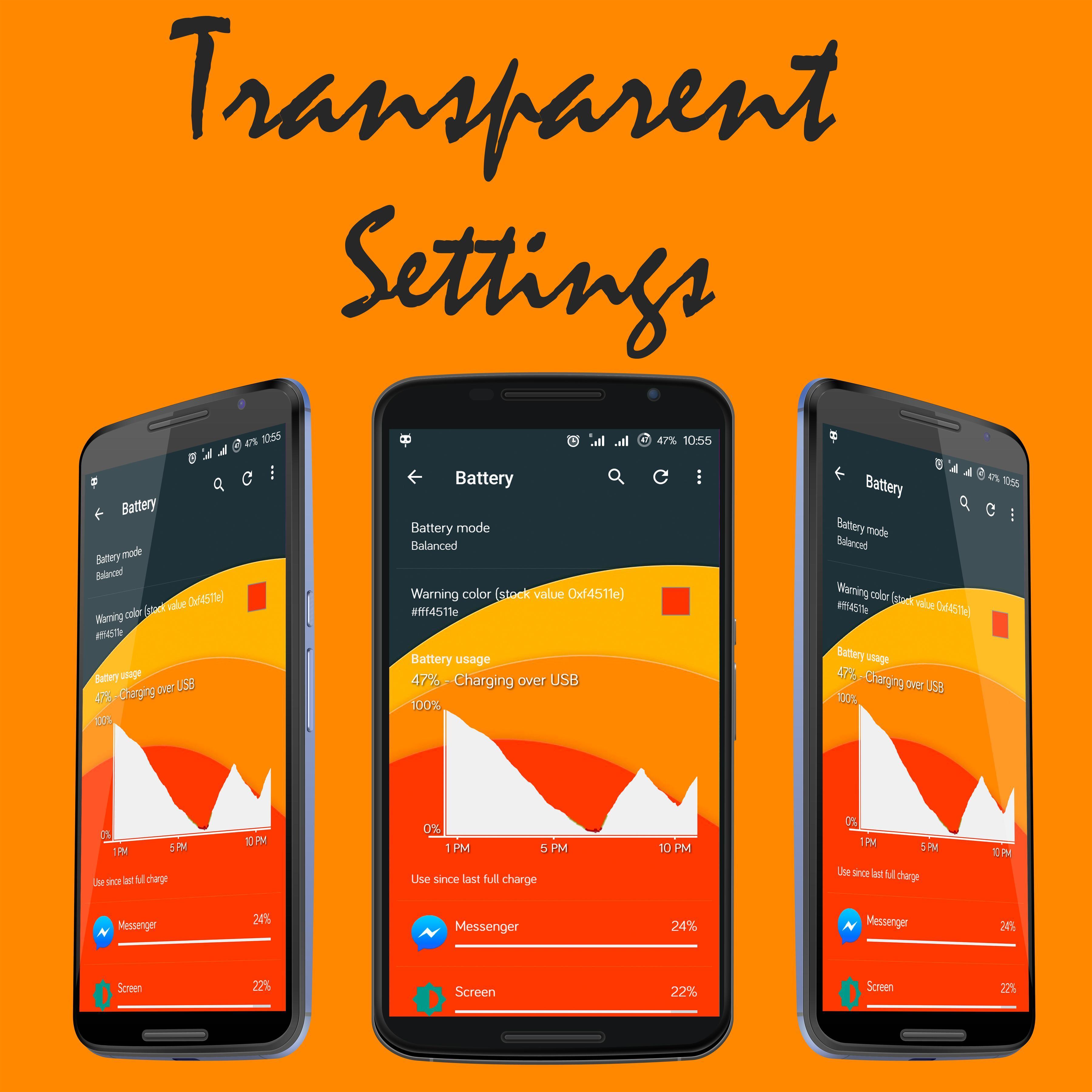 Transparent UI CM 13/14 for Android - APK Download