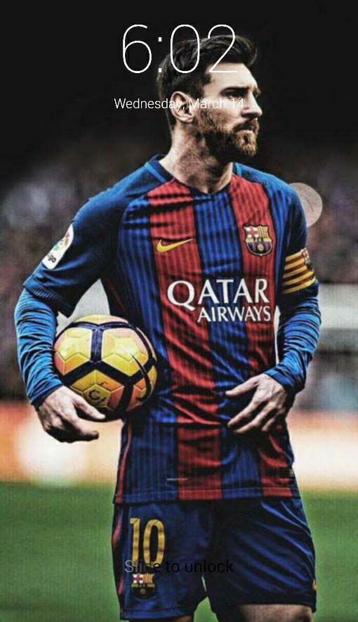 Leo Messi Lock Screen For Android Apk Download
