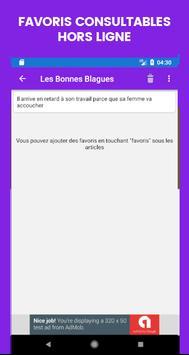 Les Bonnes Blagues screenshot 2