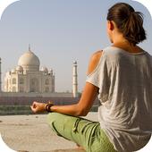 Travel to India icon