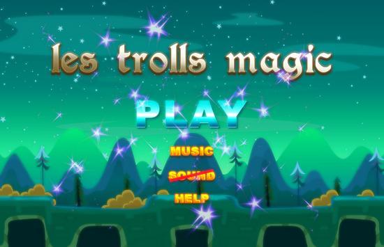 troll magic poster