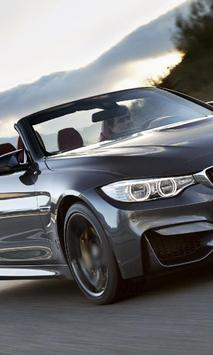 Top Jigsaw Puzzles BMW M4 Cabrio poster
