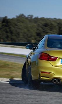 Top Jigsaw Puzzles BMW M4 Coupe poster