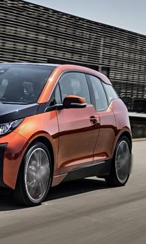Top Jigsaw Puzzles BMW i3 poster