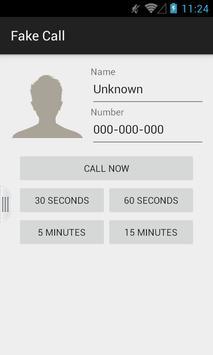 Fake Call скриншот 3