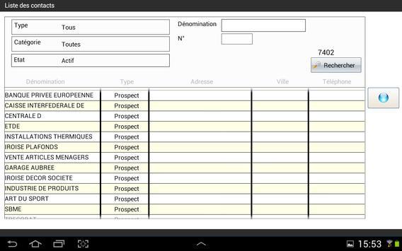 PROcontact Mobile 2014 apk screenshot