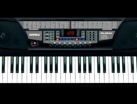 organ Playing poster