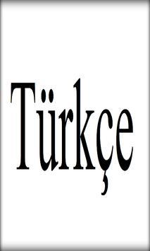 تعلم التركية بسرعة فائقة poster