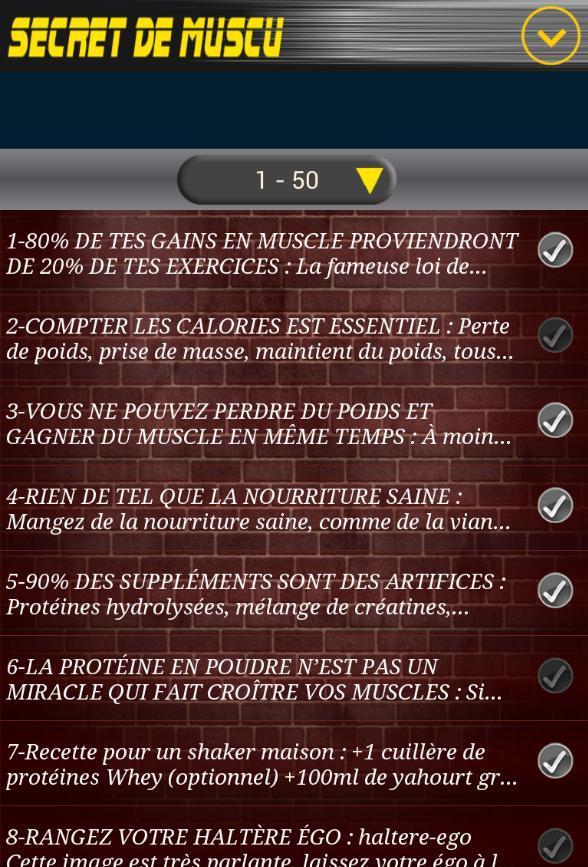 Les Secrets De La Musculation For Android Apk Download