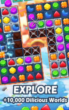 Cookie Crush - Match 3 Games & Free Puzzle Game スクリーンショット 1