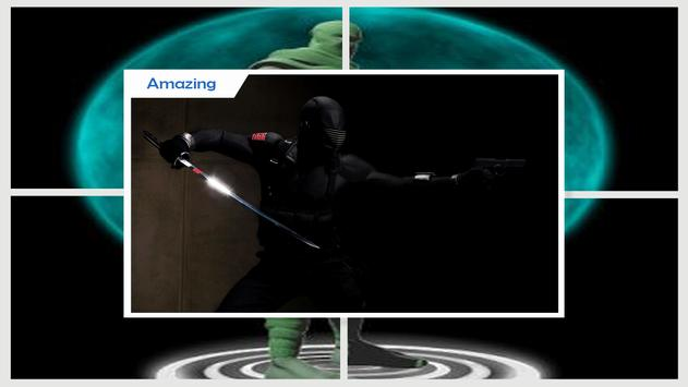 Ninja Live Wallpaper HD screenshot 2