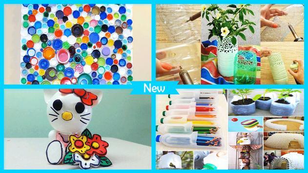 Recycled DIY Plastic Bottle Crafts apk screenshot