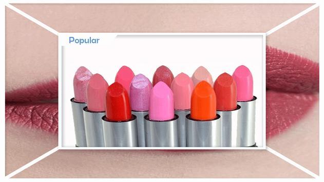 Stylish Glossy Lips Makeup poster