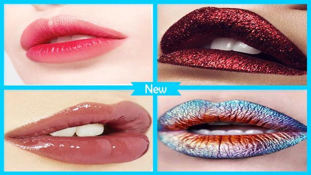 Stylish Glossy Lips Makeup screenshot 2