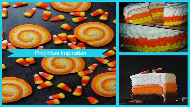 Sweet Halloween Candy Corn Desserts screenshot 4