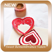 Sweet Remembrance Valentine Day Card icon