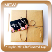 Simple DIY Chalkboard Gift Tags icon