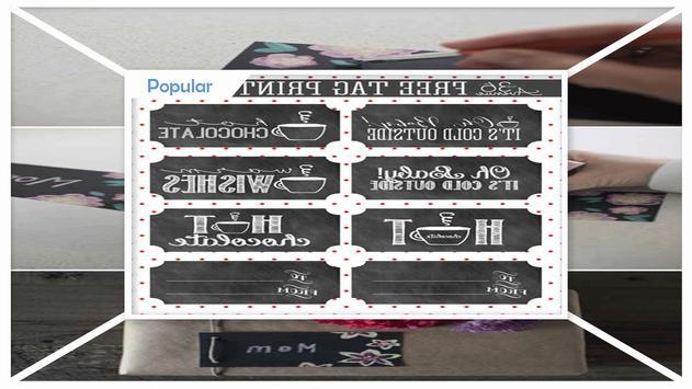 Simple DIY Chalkboard Gift Tags screenshot 2