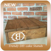 Trendy DIY cake Stands icon