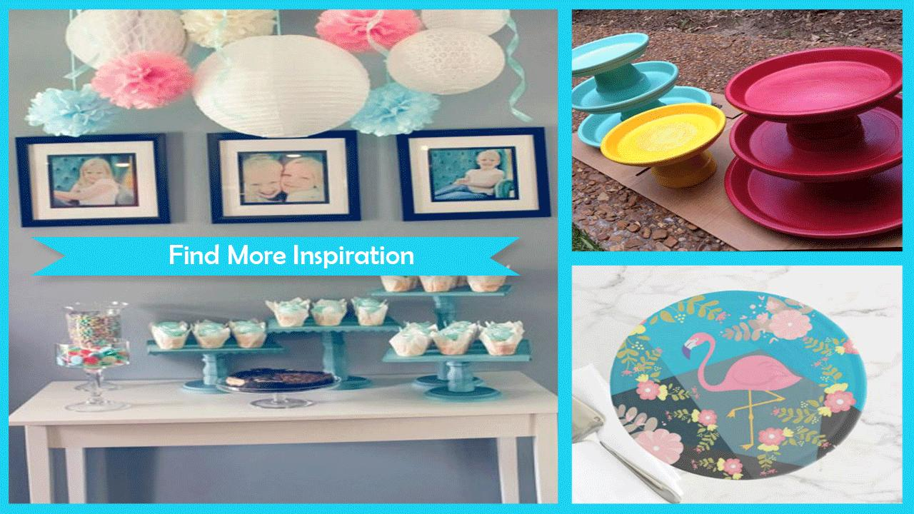Trendy DIY cake Stands poster