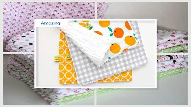 Wonderful DIY Burp Cloths apk screenshot