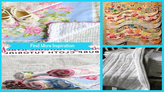 Wonderful DIY Burp Cloths screenshot 4