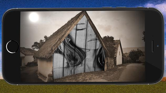 Village Photo Frame poster