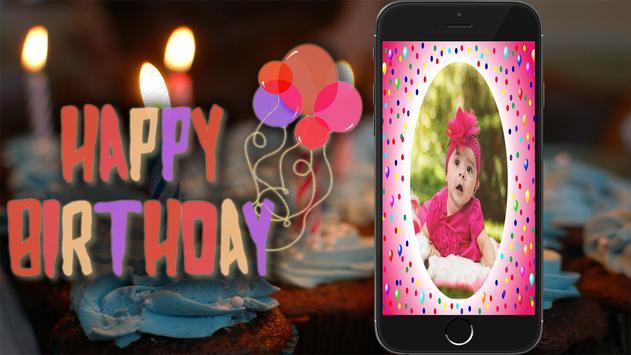 Birthday Photo Frame screenshot 3