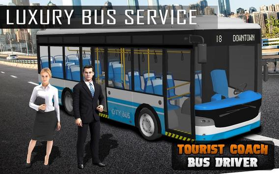 Tourist Coach Bus Driving 2018 poster