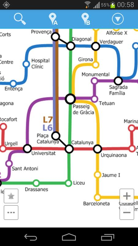 Barcelona Metro Map For Android Apk Download
