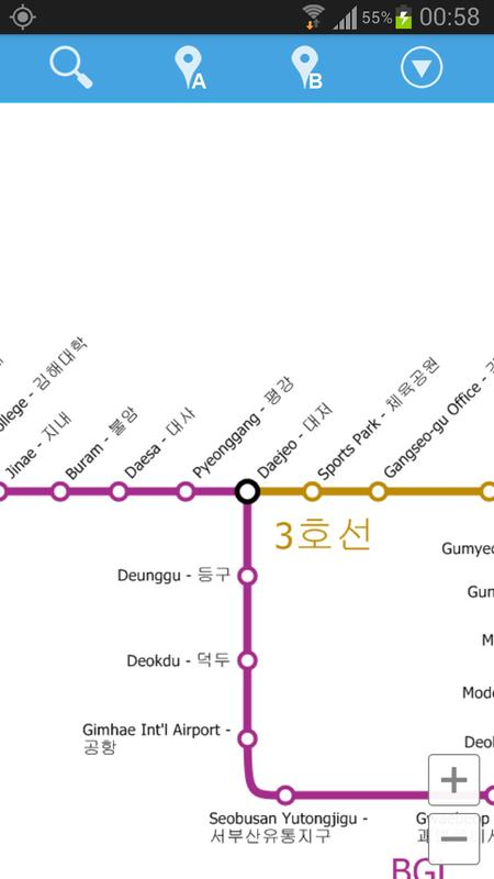 Busan Metro Map For Android Apk Download