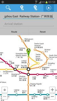 Guangzhou Metro Map screenshot 3