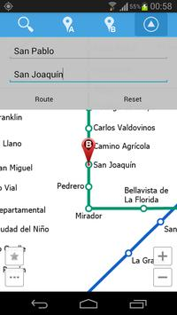 Santiago Metro Map screenshot 4