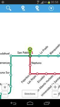 Santiago Metro Map screenshot 5