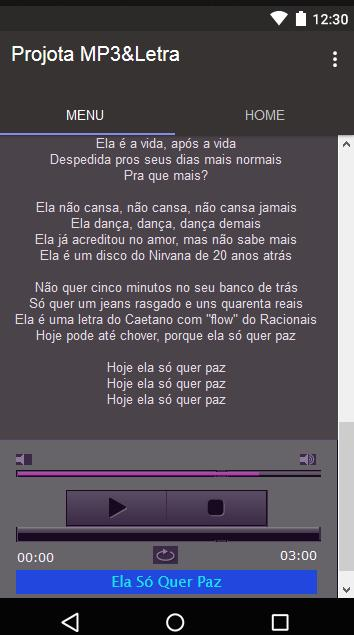 Projota Musica Letra For Android Apk Download