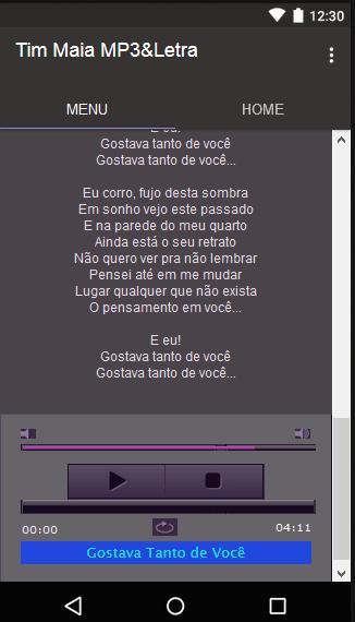 Tim Maia Musica L Etra Para Android Apk Baixar