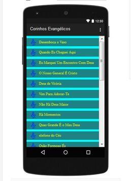 Corinhos Evangélicos screenshot 1