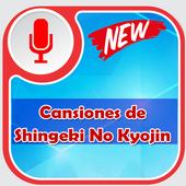 Shingeki No Kyojin de Canciones icon