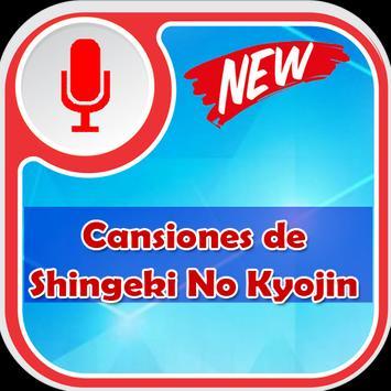 Shingeki No Kyojin de Canciones poster