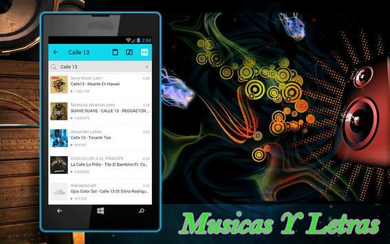Calle 13 - Atrevete te te apk screenshot