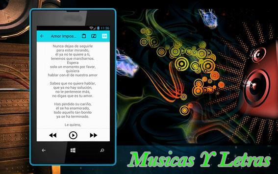Camela Amor Imposible Musicas apk screenshot