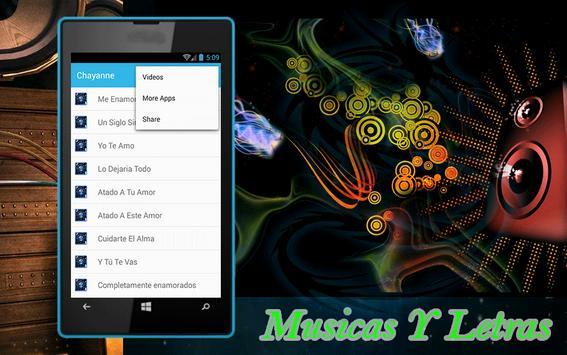 Chayanne Yo Te Amo Canciones apk screenshot