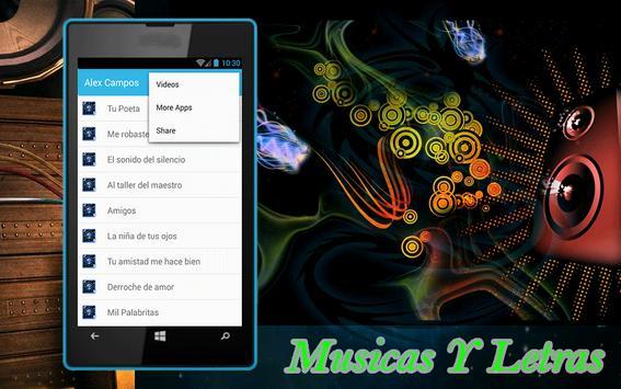Tu Poeta Alex Campos Letras screenshot 1