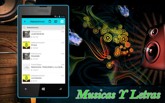 Babasónicos - Putita cancion apk screenshot