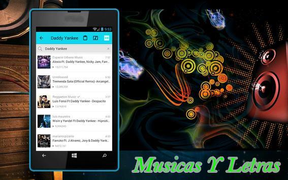 Despacito Daddy Yankee Letras apk screenshot