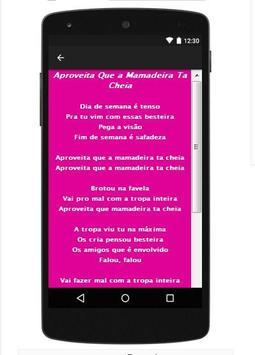 MC TH Letras Top Canções apk screenshot
