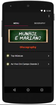 Letras Musicas Munhoz e Mariano poster